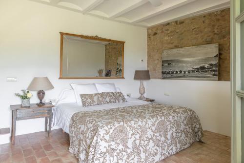 Habitación Doble con vistas al jardín - 1 o 2 camas Can Bassa 5