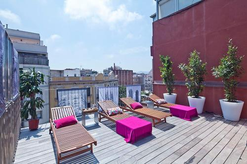 Apartment Barcelona Rentals - Pool Terrace in City Center photo 7