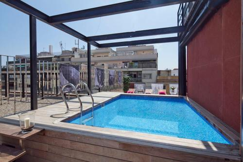 Apartment Barcelona Rentals - Pool Terrace in City Center photo 14