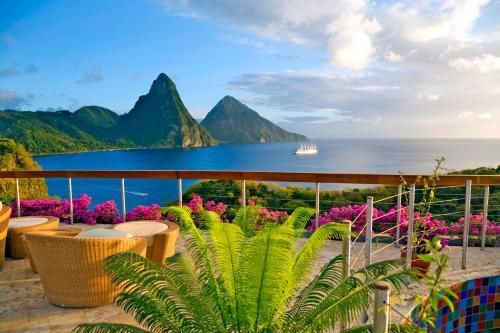 Soufriere, St. Lucia, West Indies.