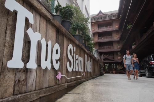 True Siam Rangnam Hotel photo 61