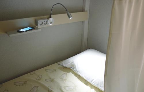 Хостел ПЛЕД на Самотёчной Кровать в общем четырехместном номере для мужчин