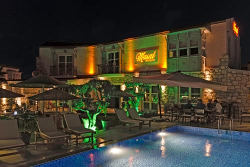 Alacati Masal Alacati Butik Hotel harita