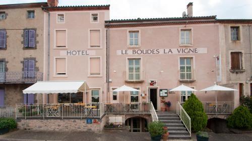 Le Boudes la vigne - Hôtel - Boudes
