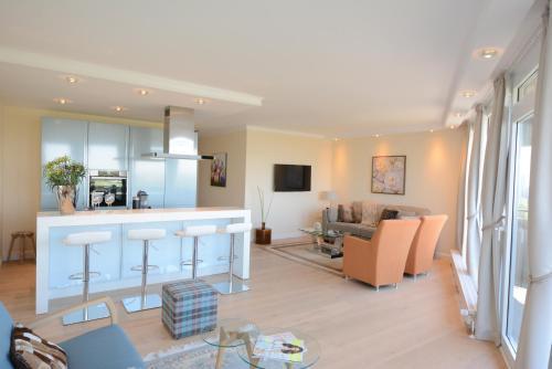 . Luxury apartment near trade fair