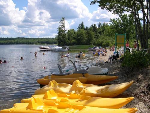 Patten Pond Camping Resort Cabin 4 - Ellsworth, ME 04605