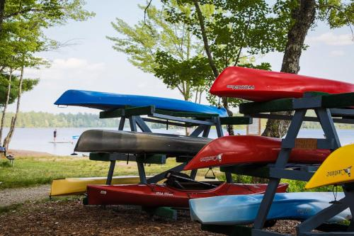 Patten Pond Camping Resort Cabin 6 - Ellsworth, ME 04605