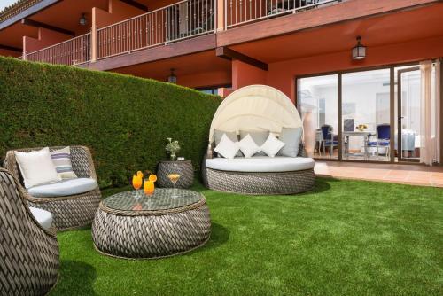 Habitación Doble con jardín privado Mas Tapiolas 6