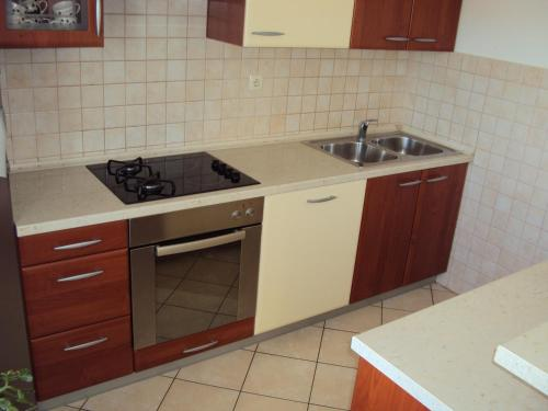 Apartman s 3 spavaće sobe i balkonom (Three-Bedroom Apartment with Balcony)