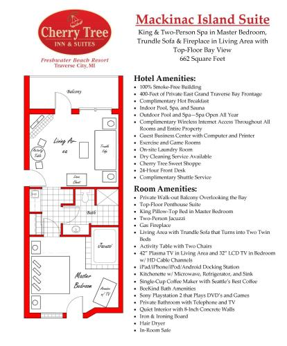 Cherry Tree Inn and Suites Hotel Traverse City in MI