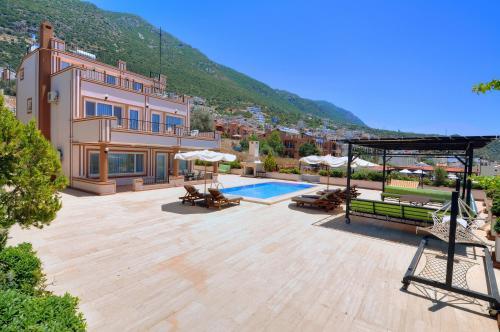 Kalkan Villa Yasemin 1 rezervasyon