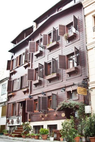 Istanbul Asmali Hotel map