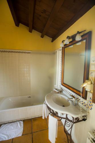 Doppel-/Zweibettzimmer mit eigener Terrasse Cigarral de Caravantes 80