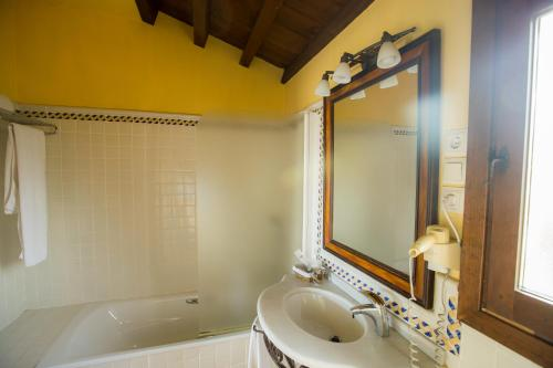 Doppel-/Zweibettzimmer mit eigener Terrasse Cigarral de Caravantes 57