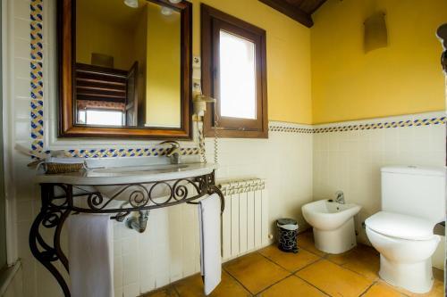 Doppel-/Zweibettzimmer mit eigener Terrasse Cigarral de Caravantes 76