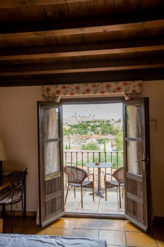 Doppel-/Zweibettzimmer mit eigener Terrasse Cigarral de Caravantes 61