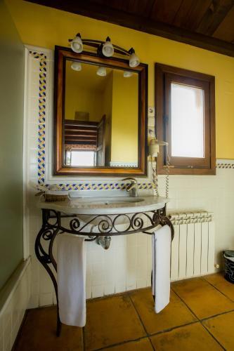 Doppel-/Zweibettzimmer mit eigener Terrasse Cigarral de Caravantes 54