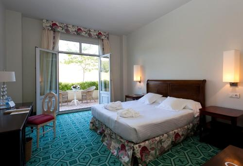 Superior Doppelzimmer mit Terrasse Palacio Urgoiti 3