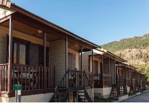 a-hotel - camping valle de hecho, campsite, hecho, spain