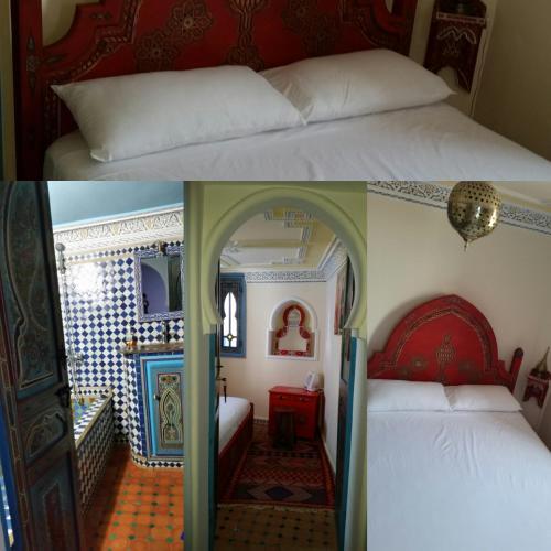 Dar Aldea Двухместный номер с 1 кроватью и собственной ванной комнатой