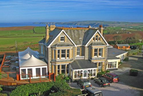 The Longcross Hotel And Gardens, Port Isaac, Cornwall