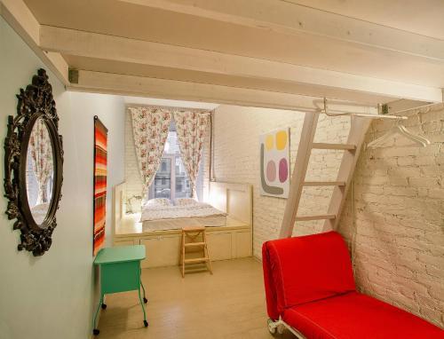 Soul Kitchen Hostel  Семейный номер с общей ванной комнатой