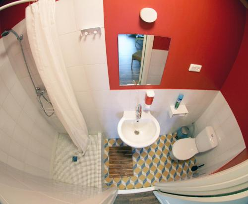 Soul Kitchen Hostel  Двухместный номер «Комфорт» с 1 кроватью