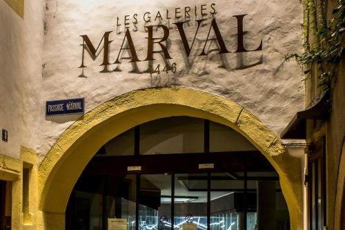 . Les Galeries Marval