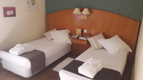 Habitación Doble - 1 o 2 camas Hotel L'Estació 8