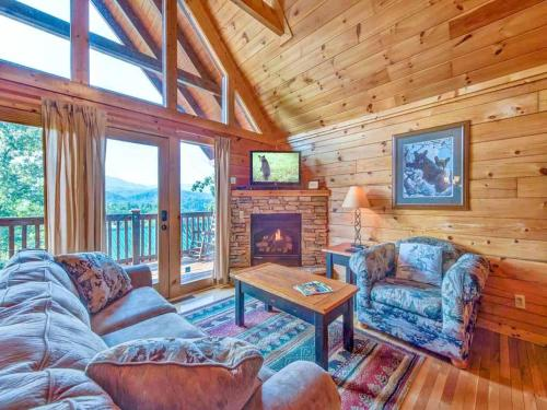 Fireside View - Two Bedroom Home