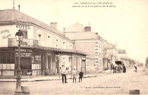. Hotel de la gare