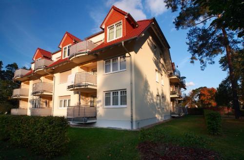 . Ferienwohnung Christiane in der Villa zum Kronprinzen direkt gegenüber der SaarowTherme