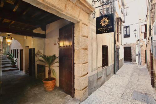 Habitación Individual Básica Hotel Casa 1800 Granada 17