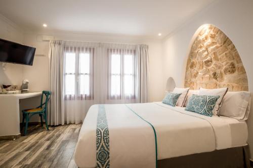 Habitación Doble Superior con bañera Hotel Abaco Altea 8