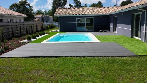 . Villa avec Piscine Lac de Sanguinet