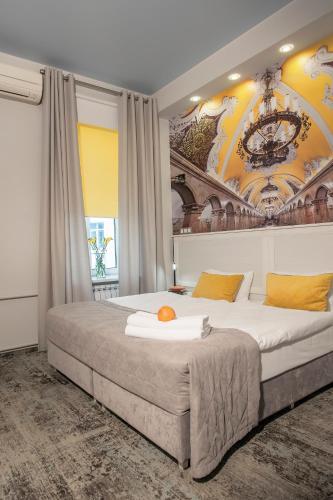 Апарт-отель Наумов Лубянка Двухместный номер эконом-класса с 1 кроватью