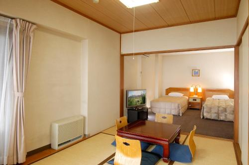 Japanese-Style Room with Tatami Area with Yunessun Spa One Day Ticket