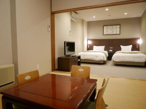 Japanese-Style Room with Tatami Area