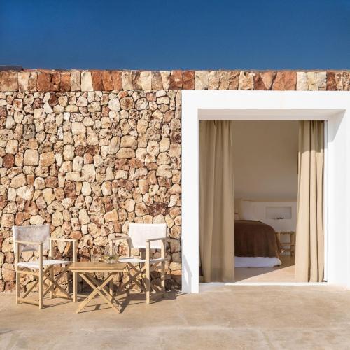 Habitación Deluxe con terraza Agroturismo Ses Talaies 4