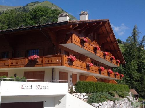 Le Chalet Rosat Apartment 25 Château-d'Oex