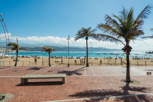 HotelAguas Verdes en la playa