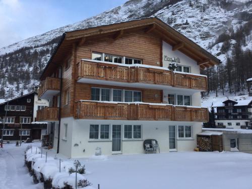 Haus Mondelli - Apartment - Saas Almagell
