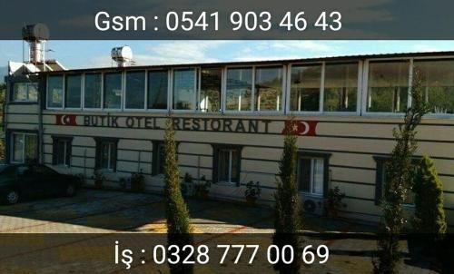 Osmaniye Butik Otel adres