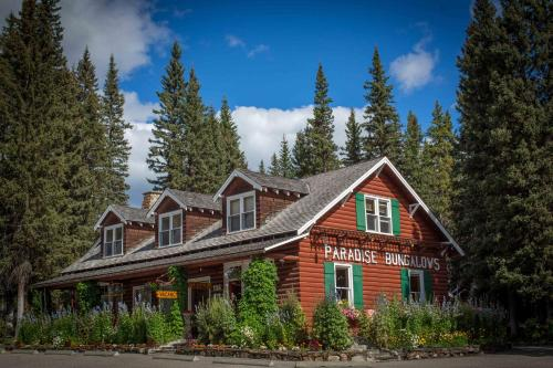 Paradise Lodge and Bungalows - Accommodation - Lake Louise