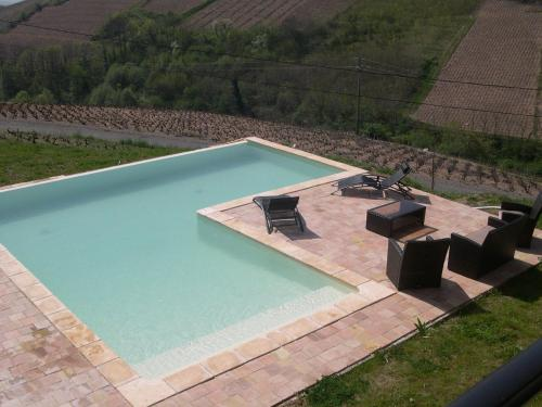 . Spacious Villa in Chiroubles with Swimming Pool