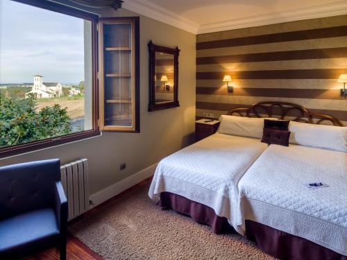 Habitación Doble - 1 o 2 camas Casa de Castro 8