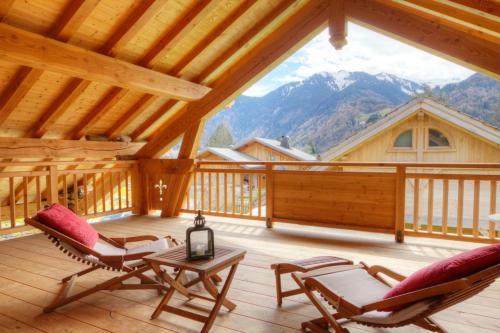 Chambres d'hôtes de charme Douglas - Accommodation - Samoëns