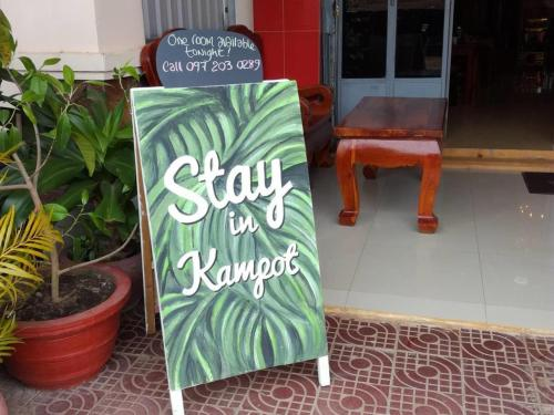 Stay in Kampot