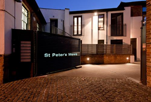 St Peters Mews impression