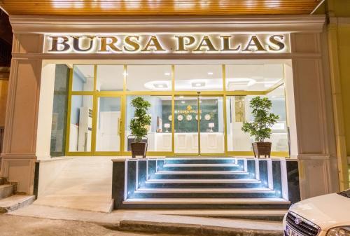 Bursa Bursa Palas Hotel yol tarifi